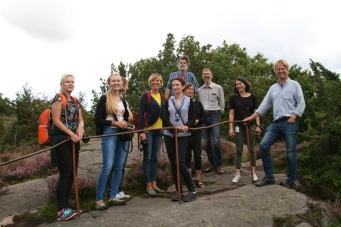 Highest point of Göteborgs botanical garden