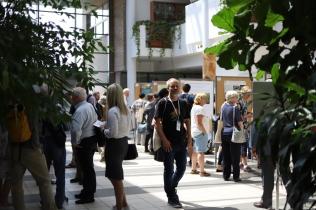 Posterová sekce mezinárodní projektové konference v červnu 2019 v polské Poznani